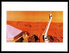 "1977 - Viking Digs A Deep Hole On Mars - 8""X10"" Photo (Esp#7974)"