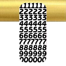 dimension totale:23x10cm thème:chiffre hauteur 18mm stickers de contour argenté