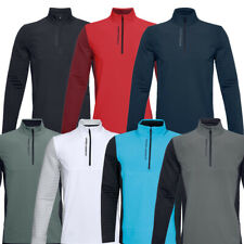 Under Armour Mens UA Storm Evolution Daytona 1/2 Zip Golf Sweater / NEW 2020
