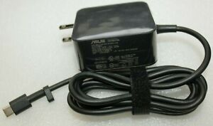 Genuine Asus W19-065N2A 65W 15V 3.0A USB TYPE C AC Power Adapter for Asus Laptop
