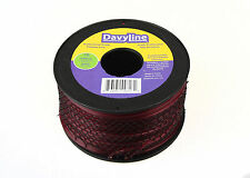 "DavyLine Professional Trimmer Line Red .095"" Diameter Round 3-lb Spool 853 ft"
