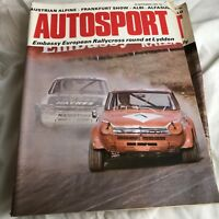 VINTAGE AUTOSPORT MAGAZINE MAG SEPTEMBER 1973 F1 RACING CARS