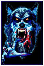 WEREWOLF Black Light Poster Designed by Joseph Charron aka STUPH4KEWLKIDZ