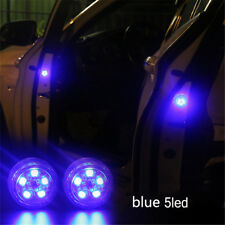 Universal Waterproof LED Car Anti-collid Door Opened Warning Lights Blue Strobe