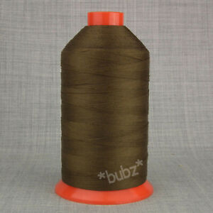 RASANT OXELLA 30 TKT SEWING THREAD STRONG LEATHER BROWN CORESPUN POLY COTTON NEW