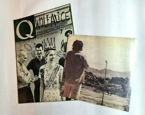 """WOLF ALICE - LIMITED EDITION Q MAGAZINE WITH EXCLUSIVE 7"""" - SPACE & TIME DH00317"""
