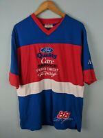 LARGE - Vintage Ford Credit Racing T Shirt 88 Dale Jarrett Nascar Robert Yates