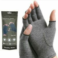 Magnetic Anti Arthritis Health Compression Therapy Gloves Hand Pain Men Women *