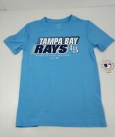 Tampa Bay Devil Rays Youth T-Shirt Sizes Small & XL Light Blue Polyester New