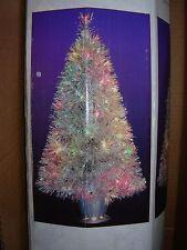 "December Home Fiber Optic 32"" Aluminum Table Top Christmas Tree"