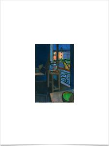 HENRI MATISSE INTERIOR WITH GOLDFISH LIMITED EDITION BIG BORDERS ART PRINT 18X24