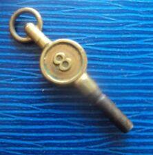 Key - no. 8 Vintage Pocket Watch Star