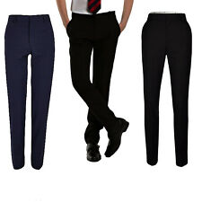 Mens Slim Fit Casual Formal Office Work Trousers Pants