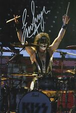 Eric Singer Hand Signed 12x8 Photo KISS 2.