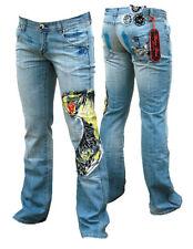 Donna Ragazze Denim Jeans Di Marca Bisou D'EVE (Bacio Di Eva)