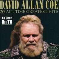 David Allan Coe - 20 All Time Greatest Hits [New CD]