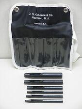 C.S. Osborne & Co. No. K-245 Belt Punch Set New