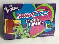 Wonka, SweeTarts Candy & Card Kit, 24 Cards & Candies