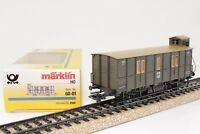 Märklin H0 60-01 / 4500 Postgepäckwagen Sonderwagen mit BrHs in OVP neuwertig