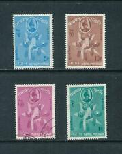 NEPAL _ 1963 'NATIONAL DAY' SET of 4 _ mh-used ____(643)