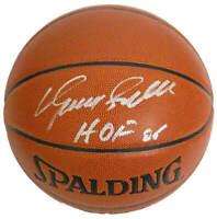 Hawks DOMINIQUE WILKINS Signed Spalding I/O Basketball w/HOF'06 - SCHWARTZ