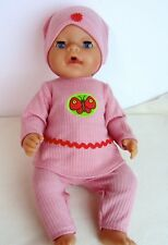 29cm Stiefel Weite ca Puppen Mantel/Jacke Mütze Puppenbekleidung