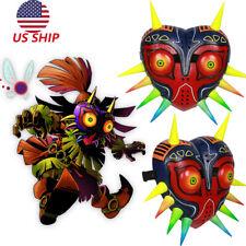 Xcoser The Legend of Zelda Majora's Mask Game Majora Cosplay Painted Mask Adult