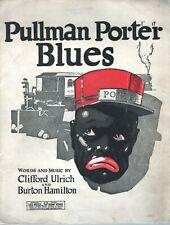 Pullman Porter Blues 1921 Sheet Music