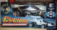 Cyclone RC High Speed Racer Car (Silver or Black) Batt Pack/Charger Included-NEW