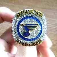 NHL 2019 St Louis Blues #1 Championship rings