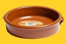 Auflaufform, Cacerola, Terrakotta aus Keramik, Cazuela 20 cm