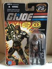 Gi Joe Master Of Disguise Zartan 25th Anniversary 1982-2007 Carded Figure