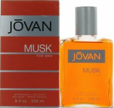 Jovan Musk by Coty 8 oz/236 ml After Shave Cologne for Men New In Box