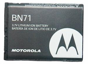 OEM MOTOROLA  BN71 SNN5836A BATTERY for MOTOROLA BARRAGE V860