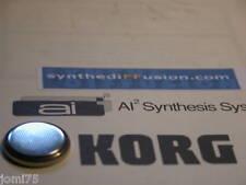 Pile lithium KORG WorkstationT3 EX T-2 T1 Factory reset Sons usine + 200 sons