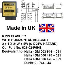 24V 6 PIN FLASHER, Equivalent:4DM 006 475 051, 0 744 44, 621-02-P6HB