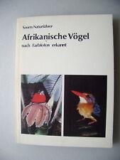 Afrikanische Vögel nach Farbfotos erkannt 1985