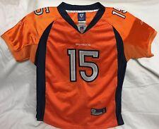Reebok Tim Tebow Denver Broncos SEWN Jersey Sz Youth Large NFL Football Mets