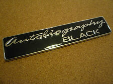 RANGE ROVER AUTOBIOGRAPHY BLACK EDITION REAR BADGE BLACK FOR VOGUE SPORT HST V8