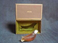 Miniature parfum ancienne perfume AVON OISEAU LOVE BIRD parfum 7.5 ml + boîte