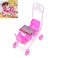 Pink Cute  doll 2 Baby Stroller Girl's Gift Doll Accessories Lp