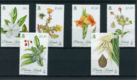 Pitcairn Islands 2014 MNH Botanica 6v Set Flowers Plants Trees Nature Flora