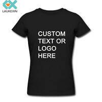 Personalized t-shirt,custom your text photo printed many colors women t shirts