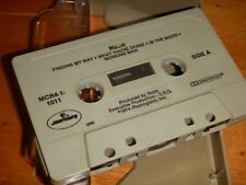 RUSH : Self Titled Cassette Tape 1974 Mercury First US Release - Missing Inlay