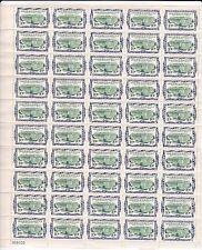 US REVENUE STAMP Mint Sheet Plate OG 1962 SC R733 10c Internal Revenue Building