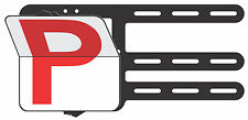 Red Provisional P Plates- Clip Plate for the Learner Drivers