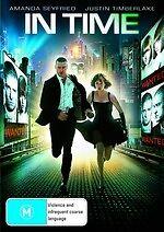 In Time * NEW DVD * Justin Timberlake Johnny Galecki Amanda Seyfried