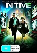 In Time NEW DVD Justin Timberlake Johnny Galecki Amanda Seyfried (REGION 4 Aust)