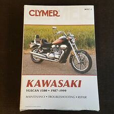 Clymer Kawasaki Vulcan 1500 1987-1999 Motorcycle Repair Manual - New