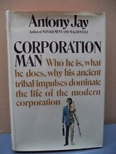 Corporation Man by Antony Jay (1971, Hardcover)